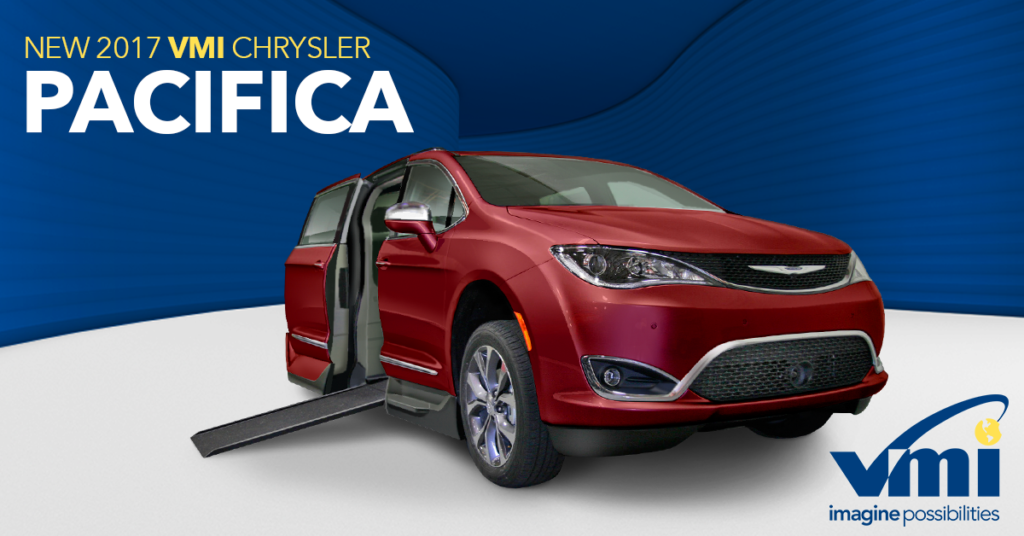 Wheelchair accessible Chrysler Pacifica by VMI